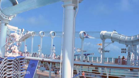 AquaDuck port side on Disney Dream