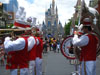 Disney World Wallpaper Brass Band