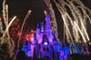 Disney World Wallpaper Castle with Holiday Wishes
