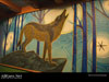 Disney World Wallpaper Animal Kingdom Wolf Painting