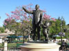 Disneyland Wallpaper Partners Statue: Closeup