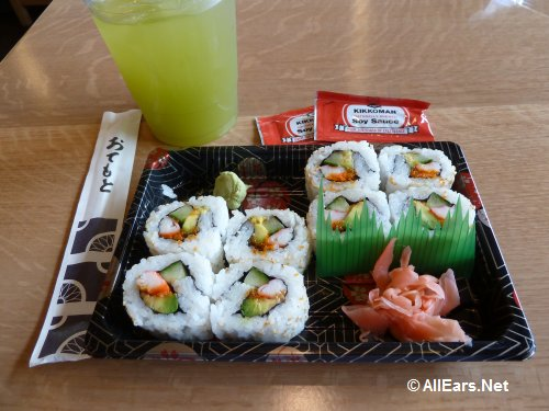 California Roll at Katsura Grill