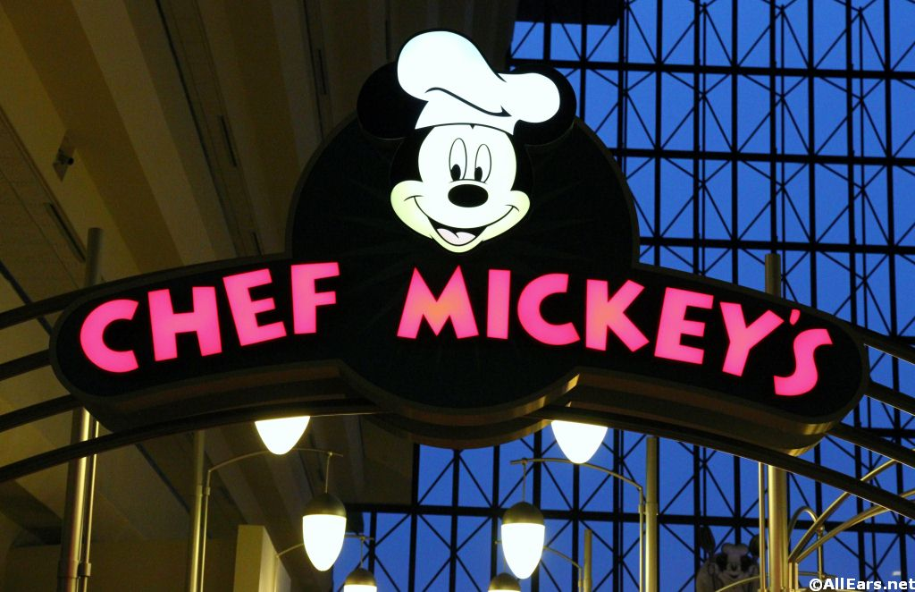 Chef Mickey's Open for Brunch as of May 31!