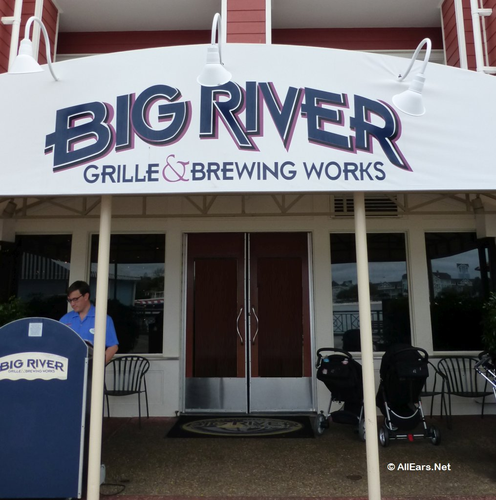 Big River Grille & Brewing Works Entrance