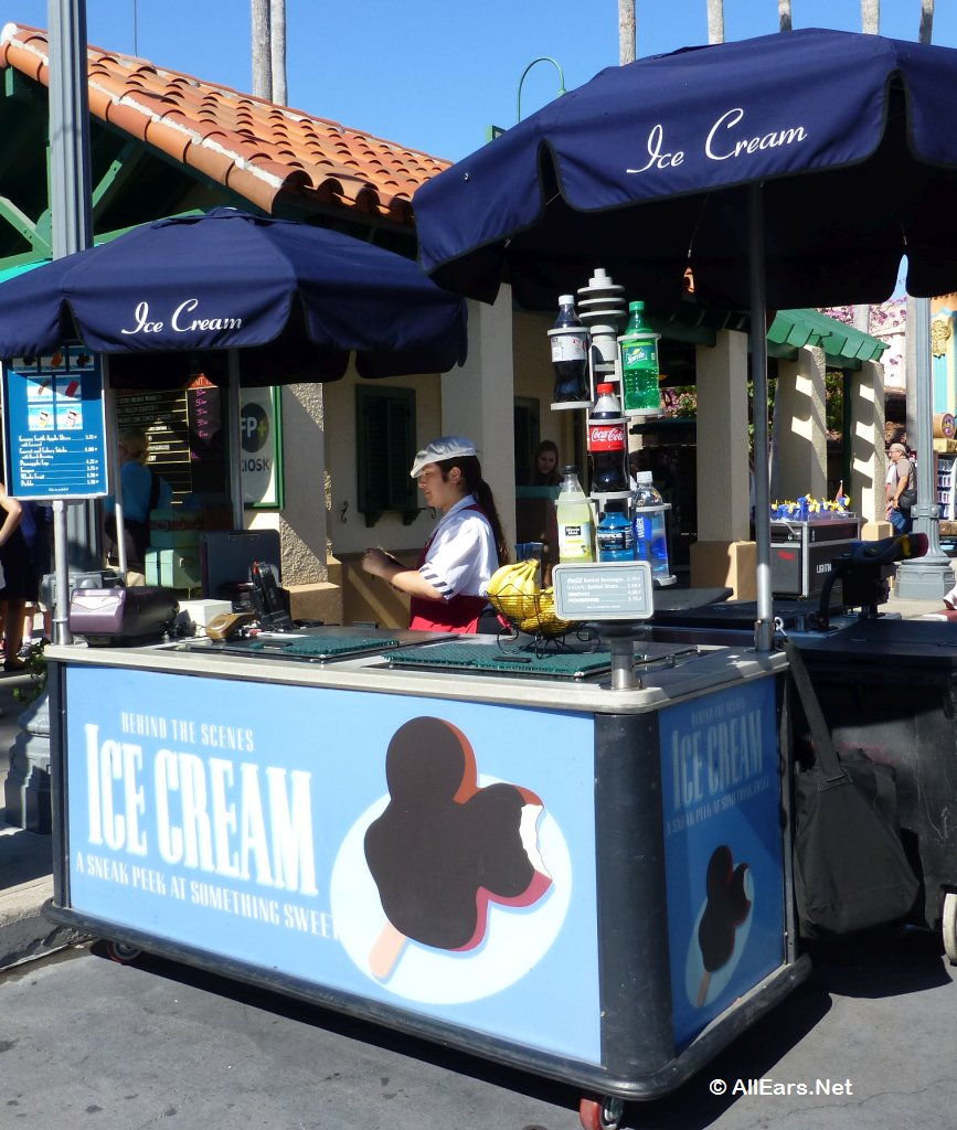 Hollywood Studios Ice Cream Cart