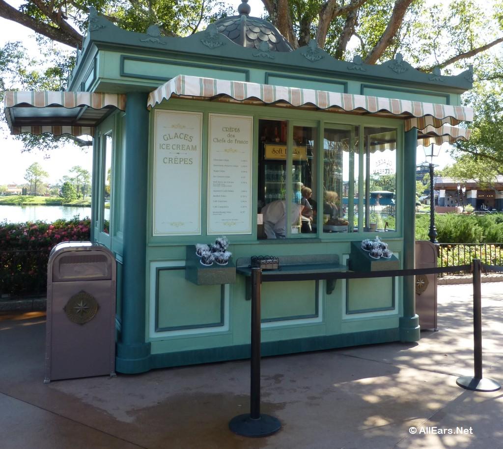 Crepes des Chefs de France Kiosk