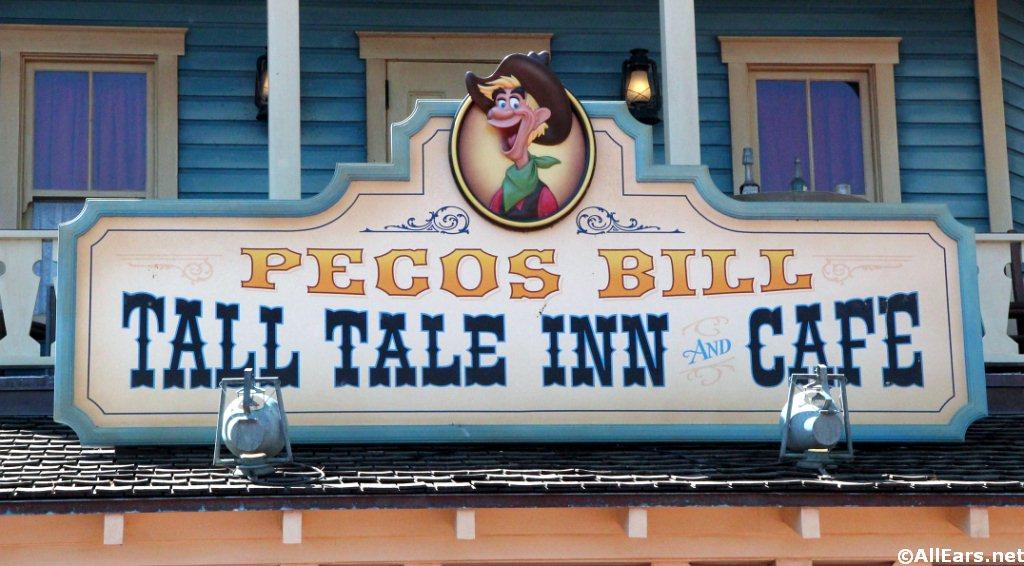Pecos Bill Signage