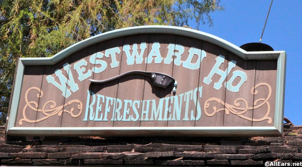 Westward Ho Signage