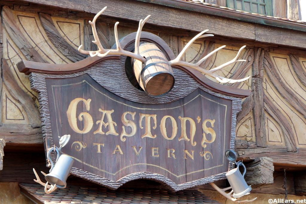 Gaston's Tavern Sign