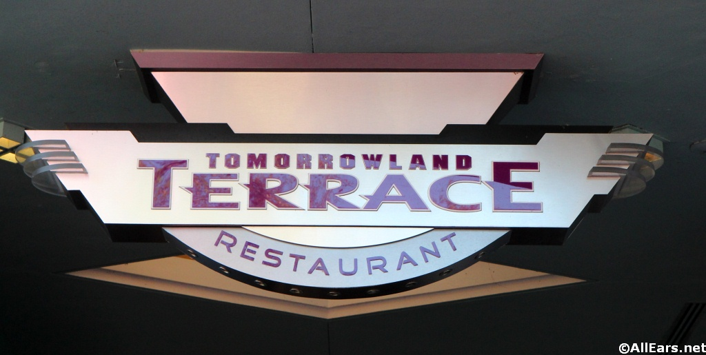 Tommorowland Terrace Sign