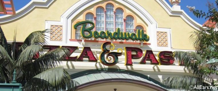 Boardwalk Pizza Exterior
