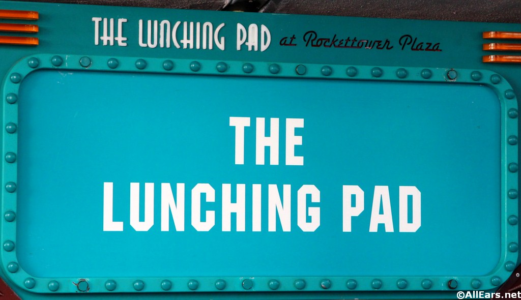Lunching Pad Sign