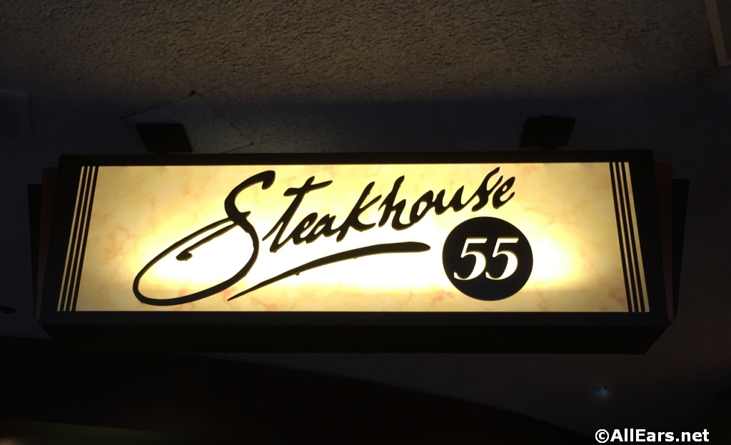 Steakhouse 55 Signage