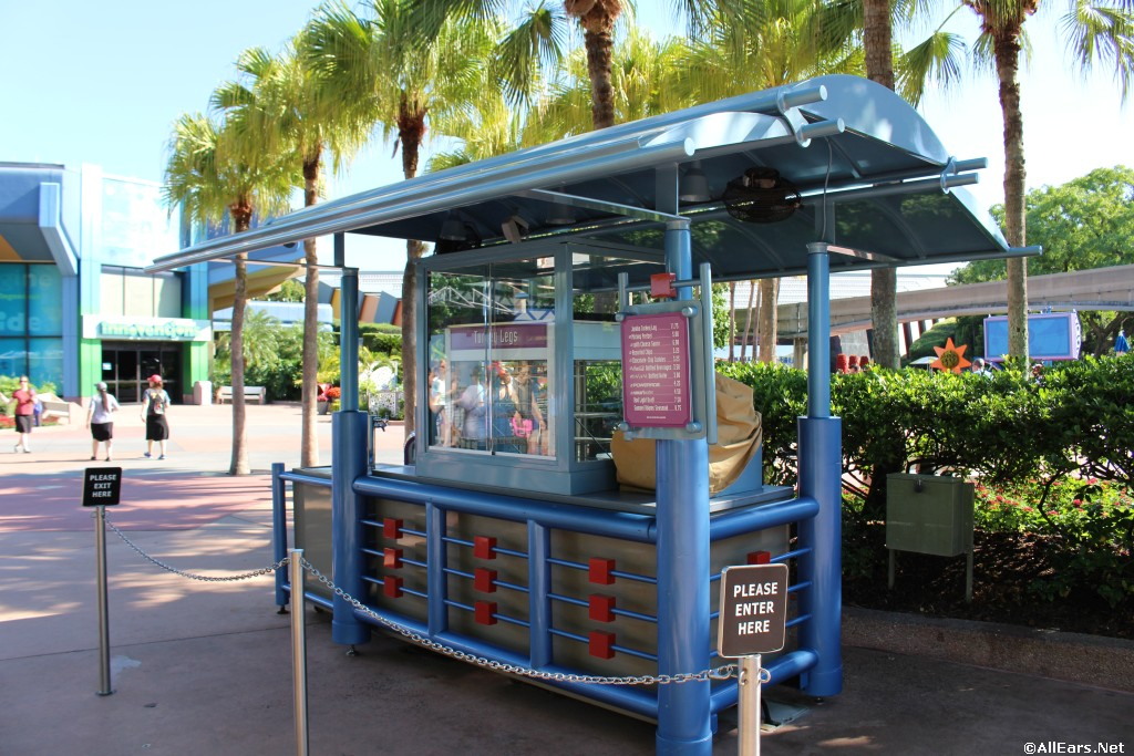 Epcot Ice Cream Cart