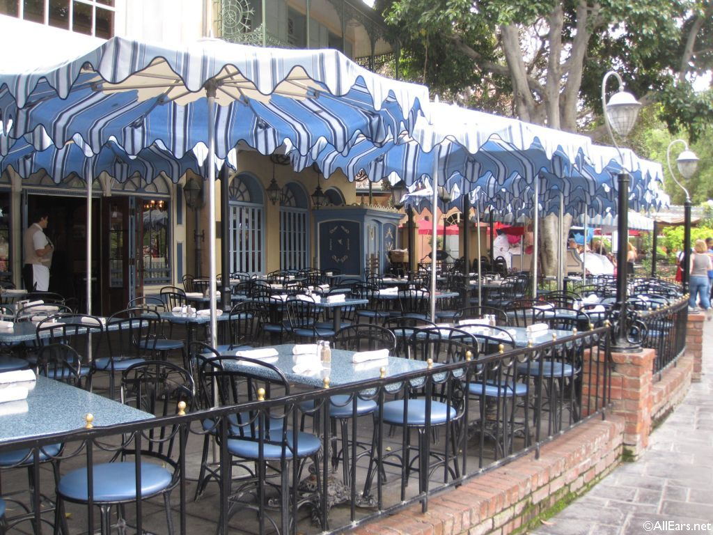 Cafe Orleans Seating