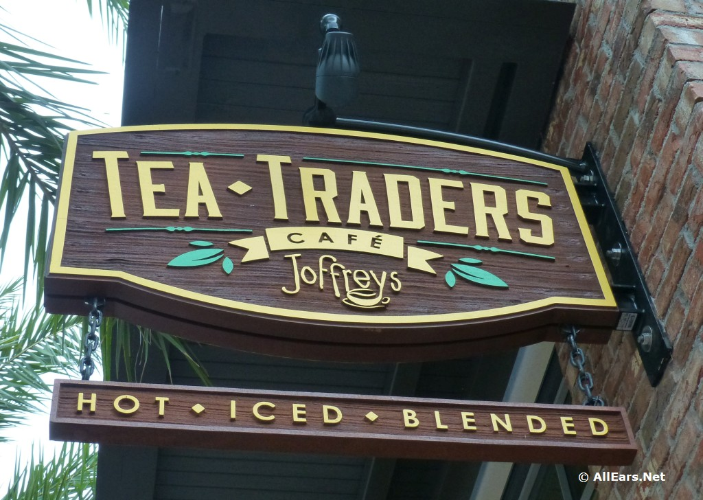 Tea Traders Cafe Signage