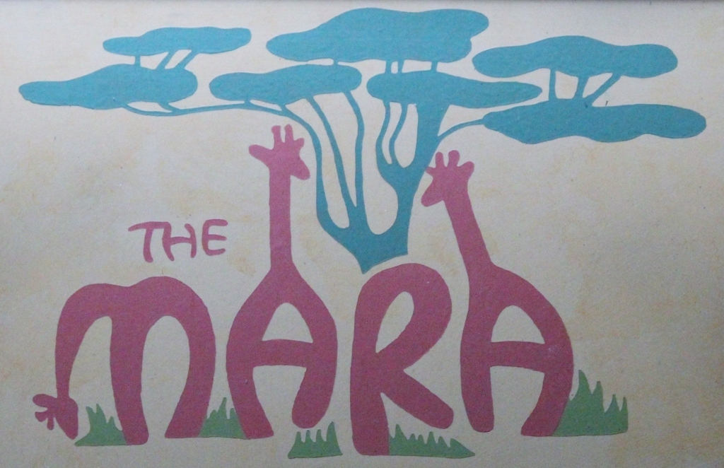 Sign for Mara
