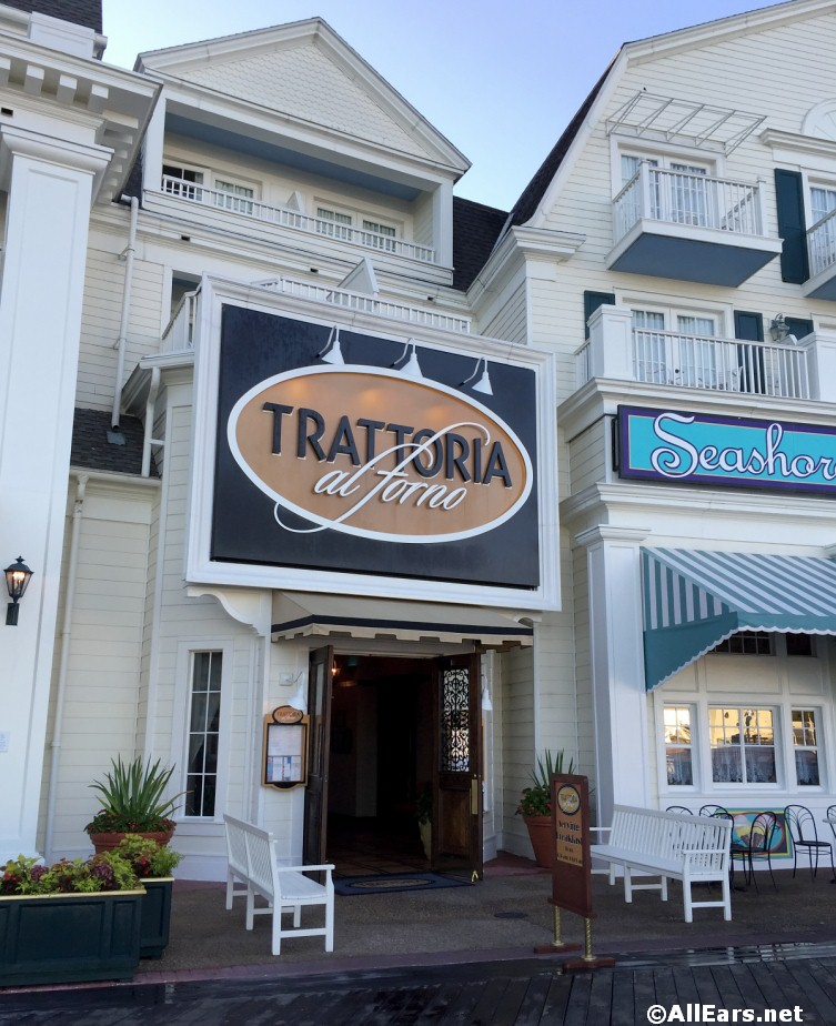 Character Breakfast Coming to Trattoria al Forno at Disney's BoardWalk!