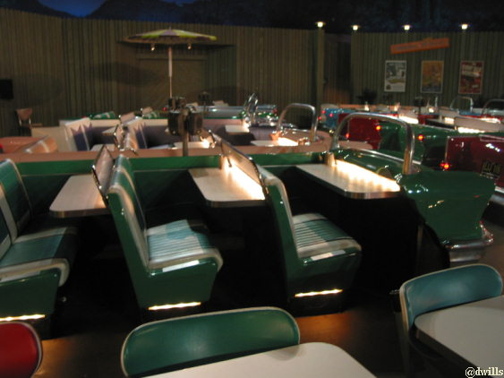 Interior Pictures Of Sci Fi Dine In Theater In Disney