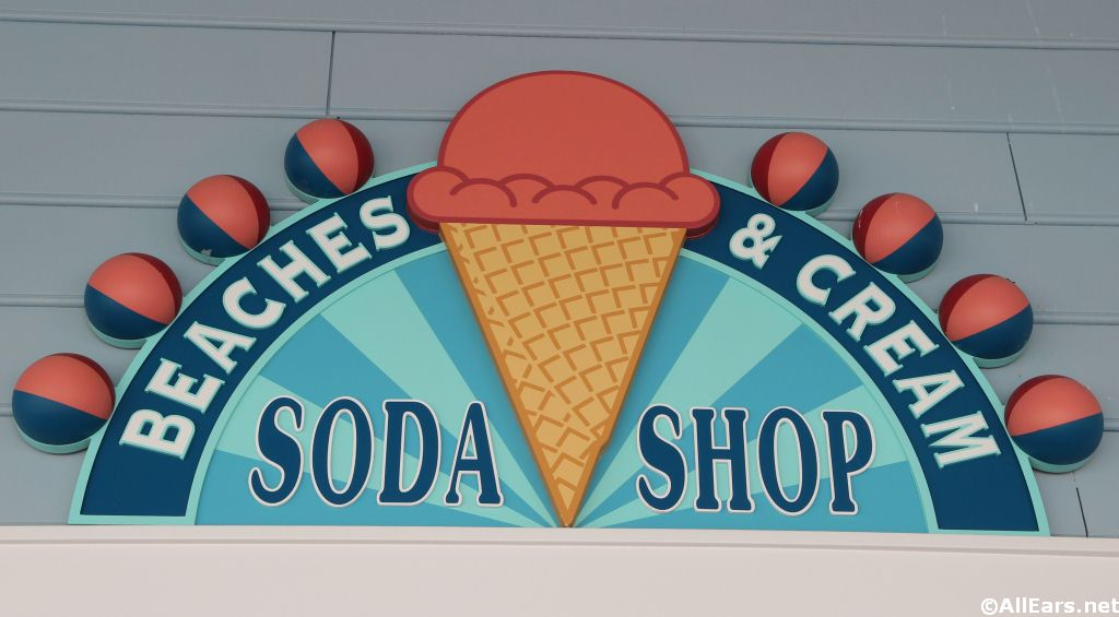 Beaches and Cream Sign