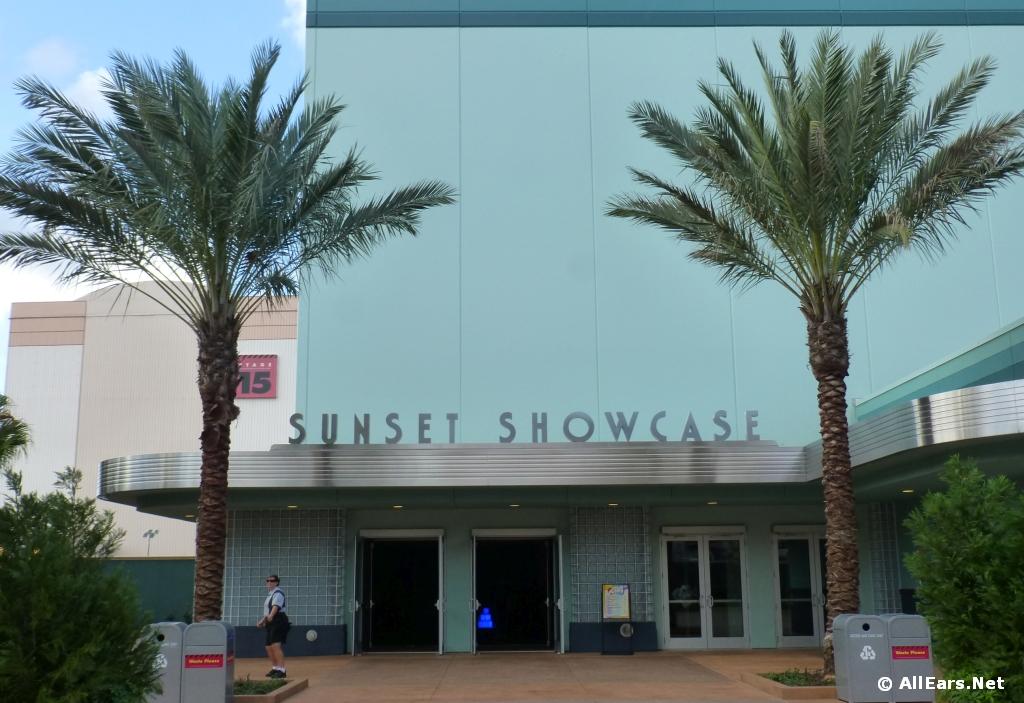 Sunset Showcase Exterior