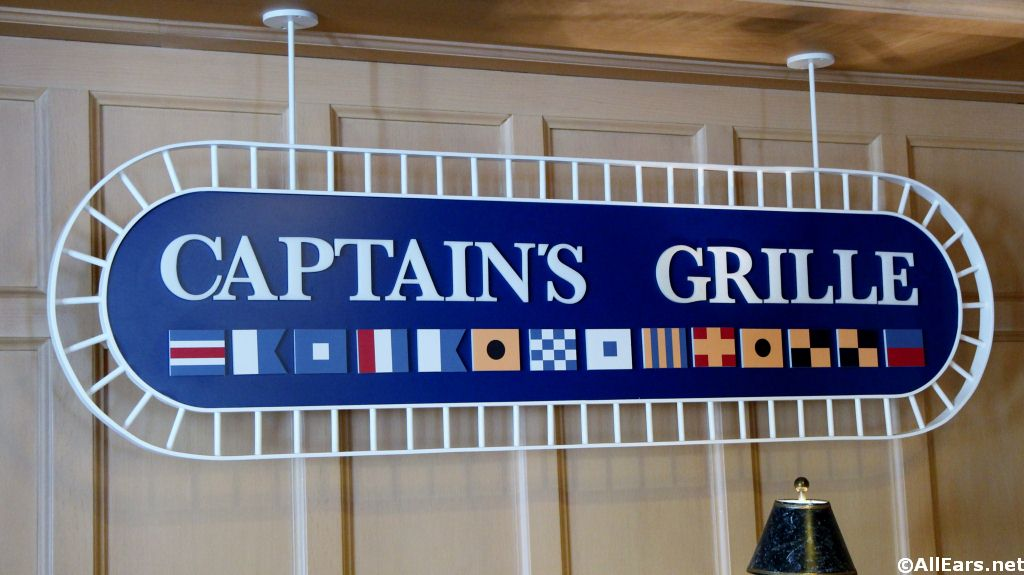 Captain's Grille Sign