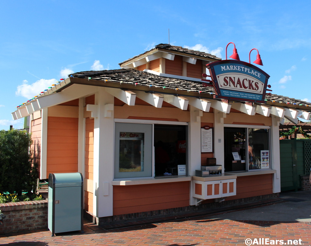 Exterior Pictures Of Marketplace Snacks In Disney World