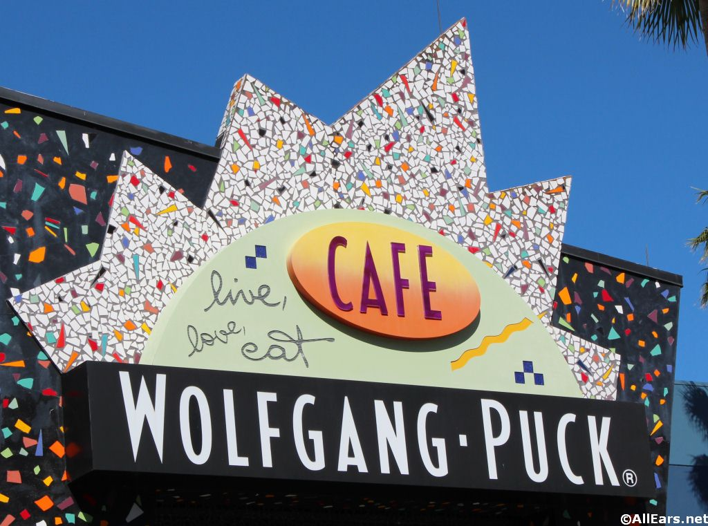 Wolfgang Puck Cafe Sign
