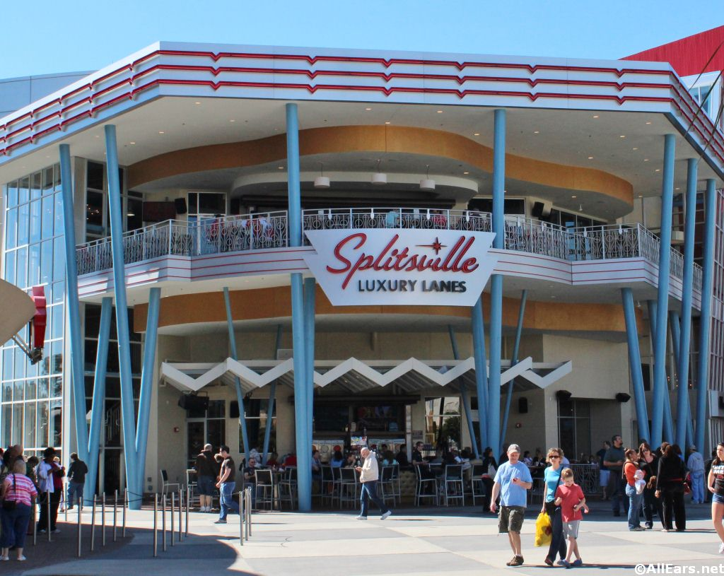 Splitsville at Disney Springs