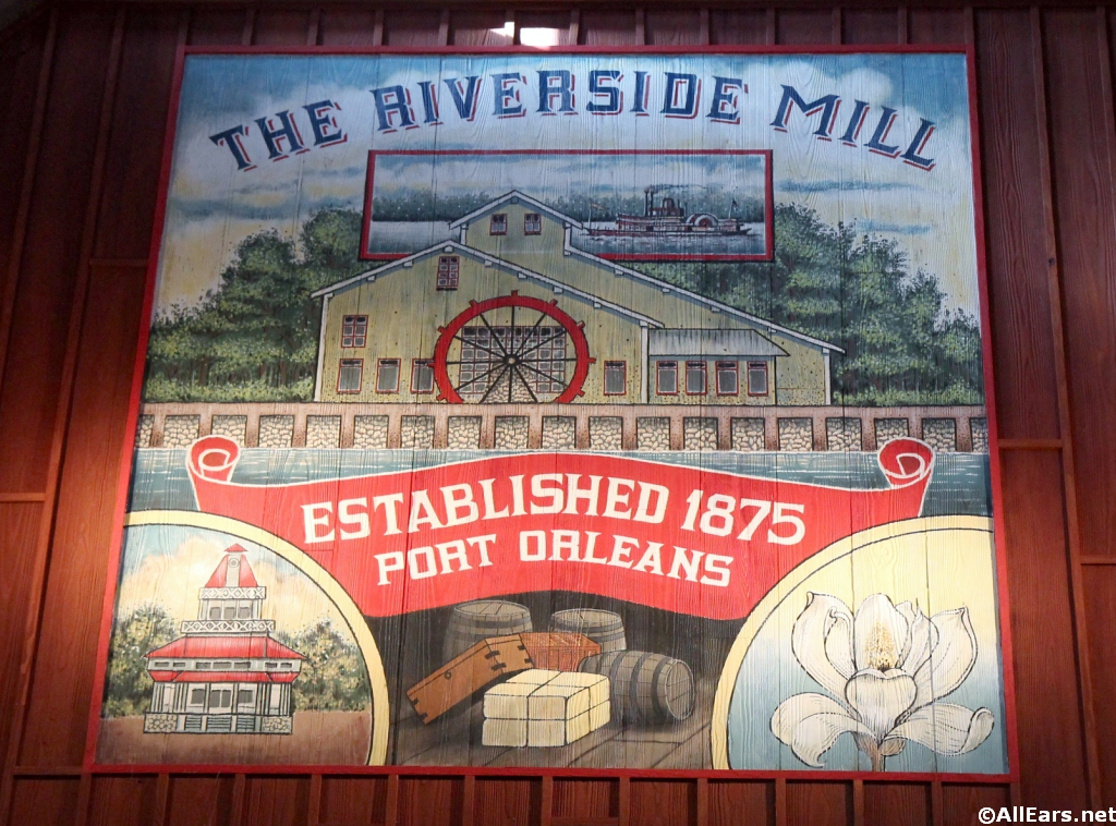 Riverside Mill Sign