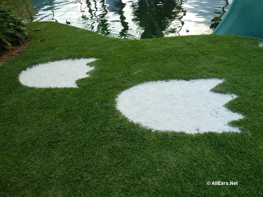 Dino Gertie Footprint