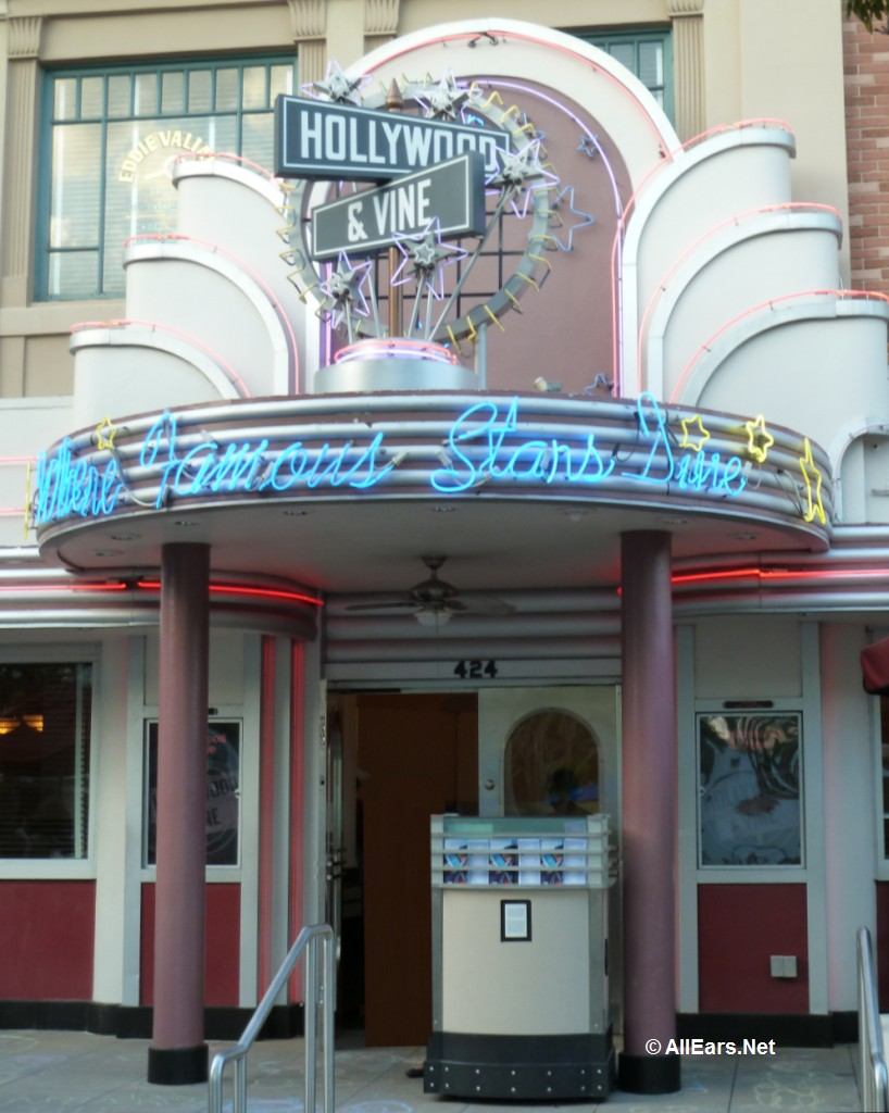Hollywood and Vine Entrance