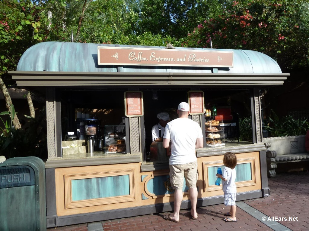 Tower of Terror Coffee Cart