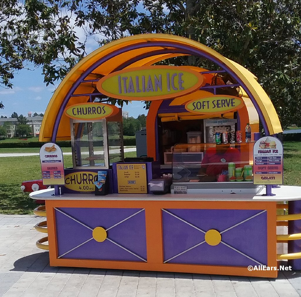 Italian Ice Kiosk - West Side