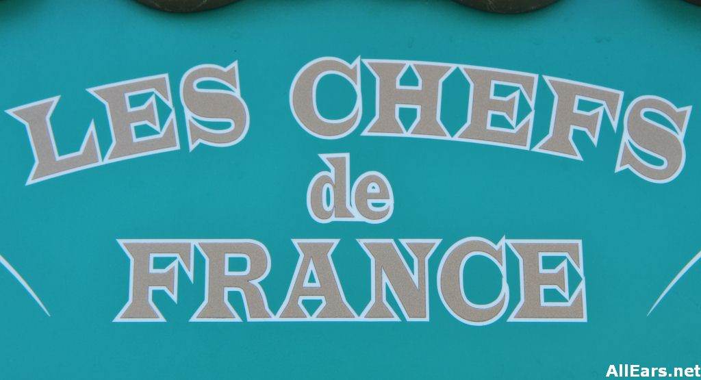 Les Chef's de France Sign