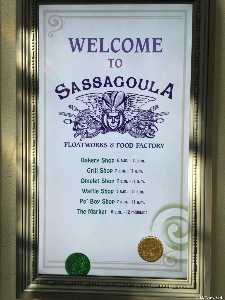 Sassagoula Food Court Reopens!