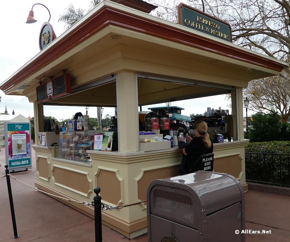 Joffrey's Coffee Cart near Disney Traders