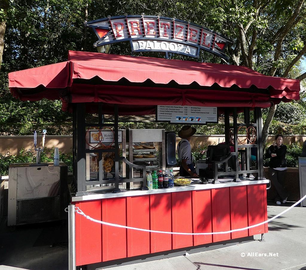 dining location pretzel palooza