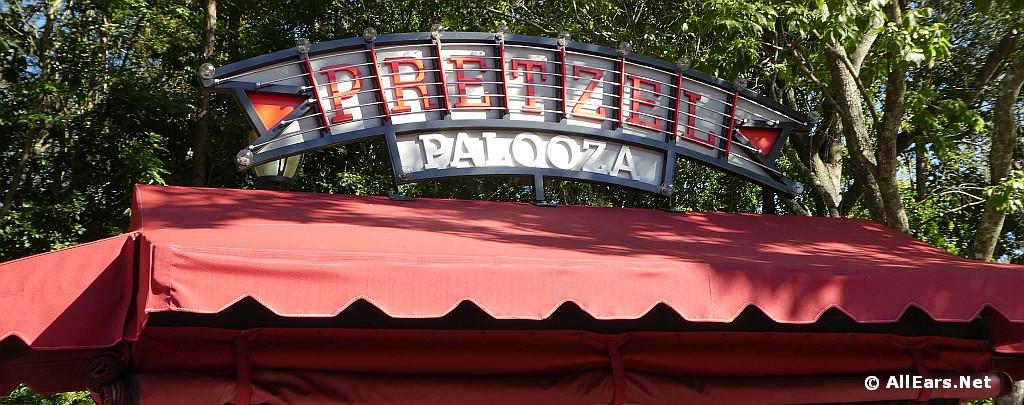 Pretzel Palooza Signage