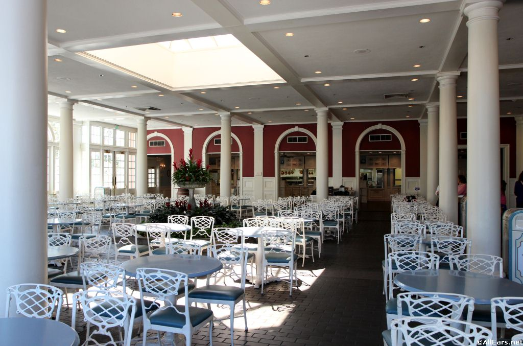 Interior Pictures Of Liberty Inn In Disney World Allears Net