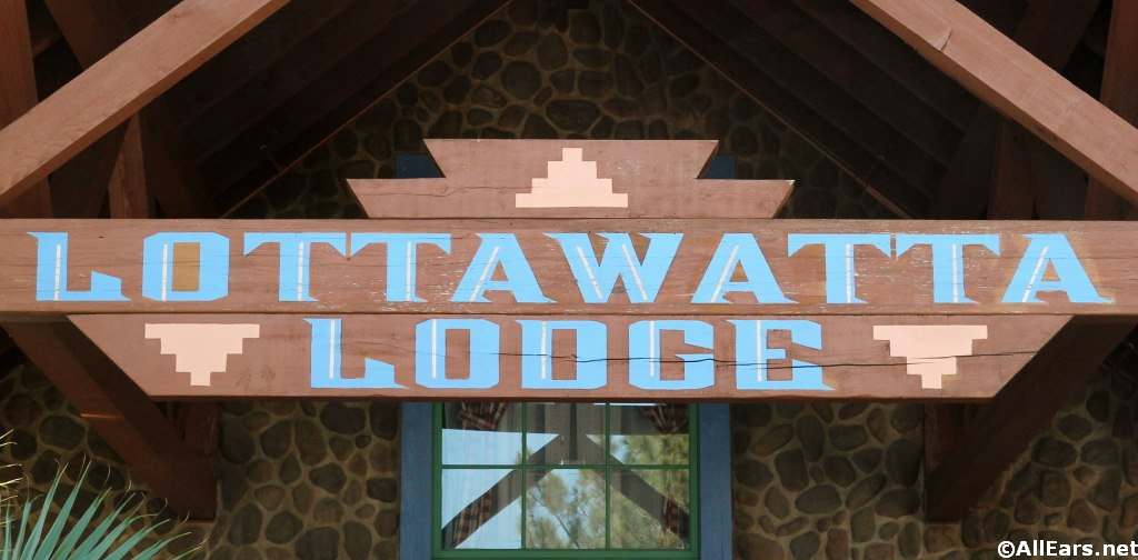 Lottawatta Lodge Sign