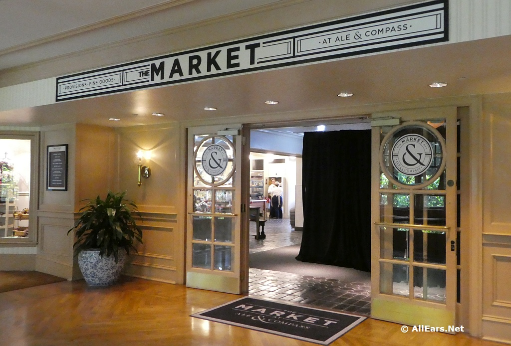 Market at Ale and Compass at the Yacht Club Resort