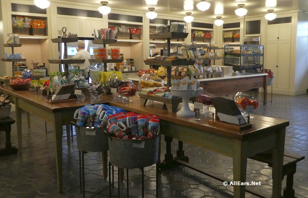 Interior Pictures of The Market at Ale and Compass in Disney World - AllEars.Net