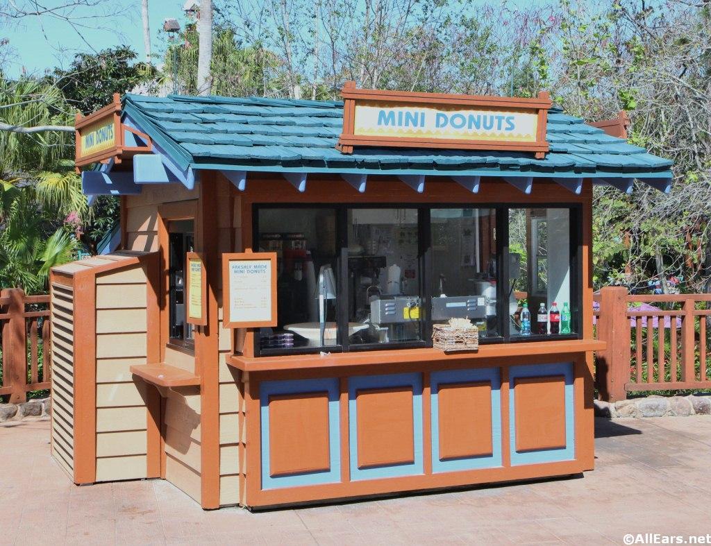 Mini Donuts Kiosk