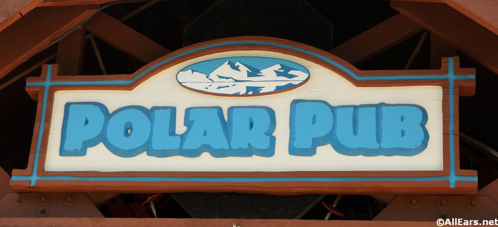 Polar Pub Sign