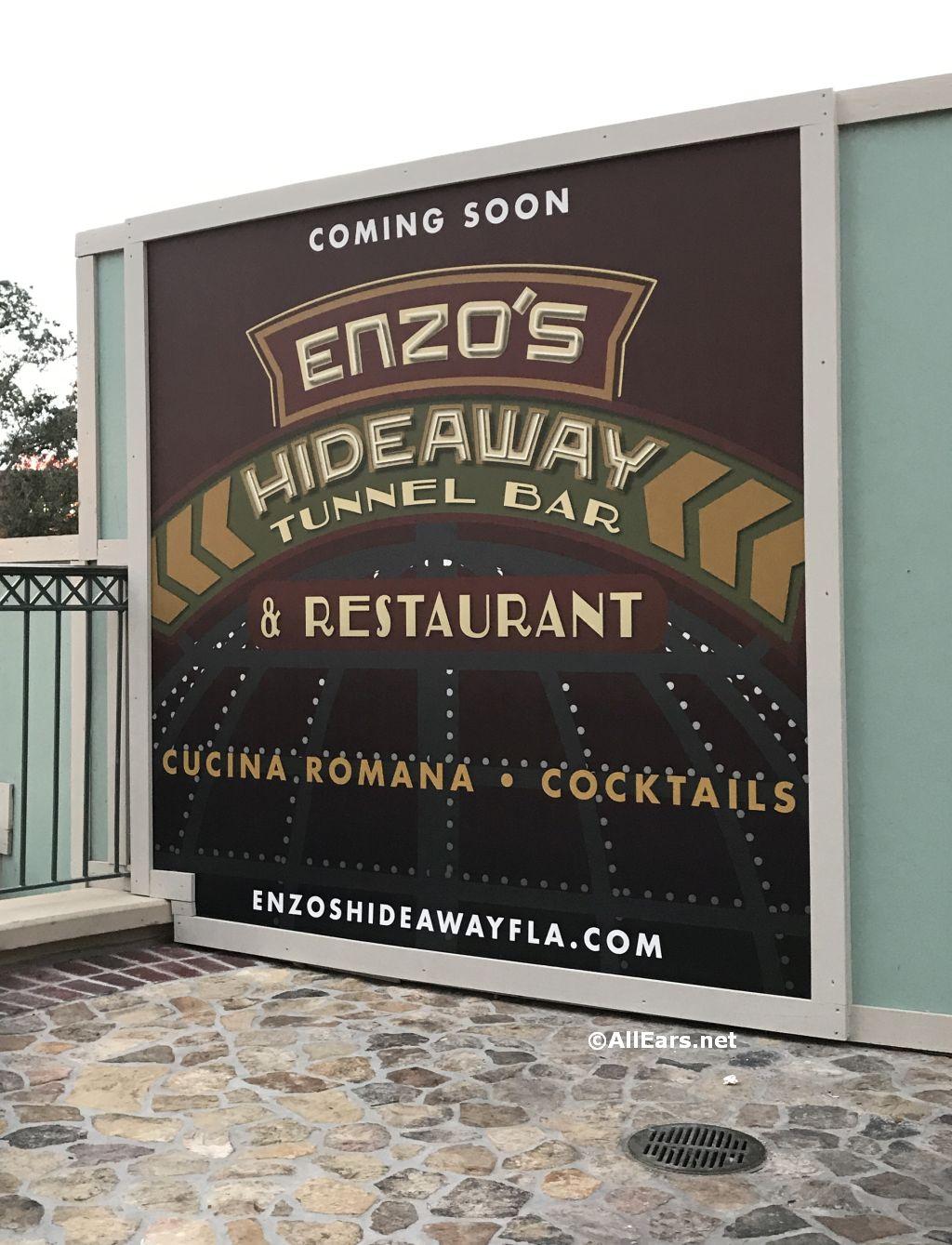 Enzo's Hideaway Tunnel Bar