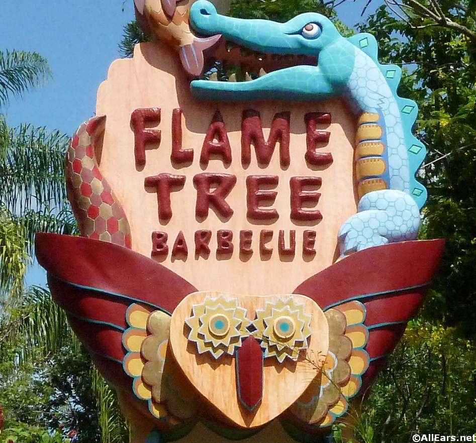 Flame Tree BBQ Animal Kingdom