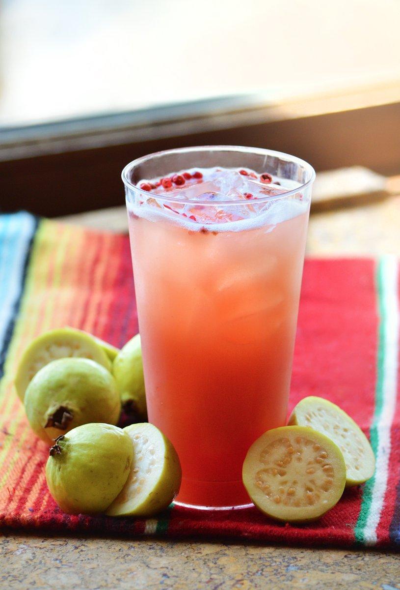 Guava Pink Peppercorn Margarita