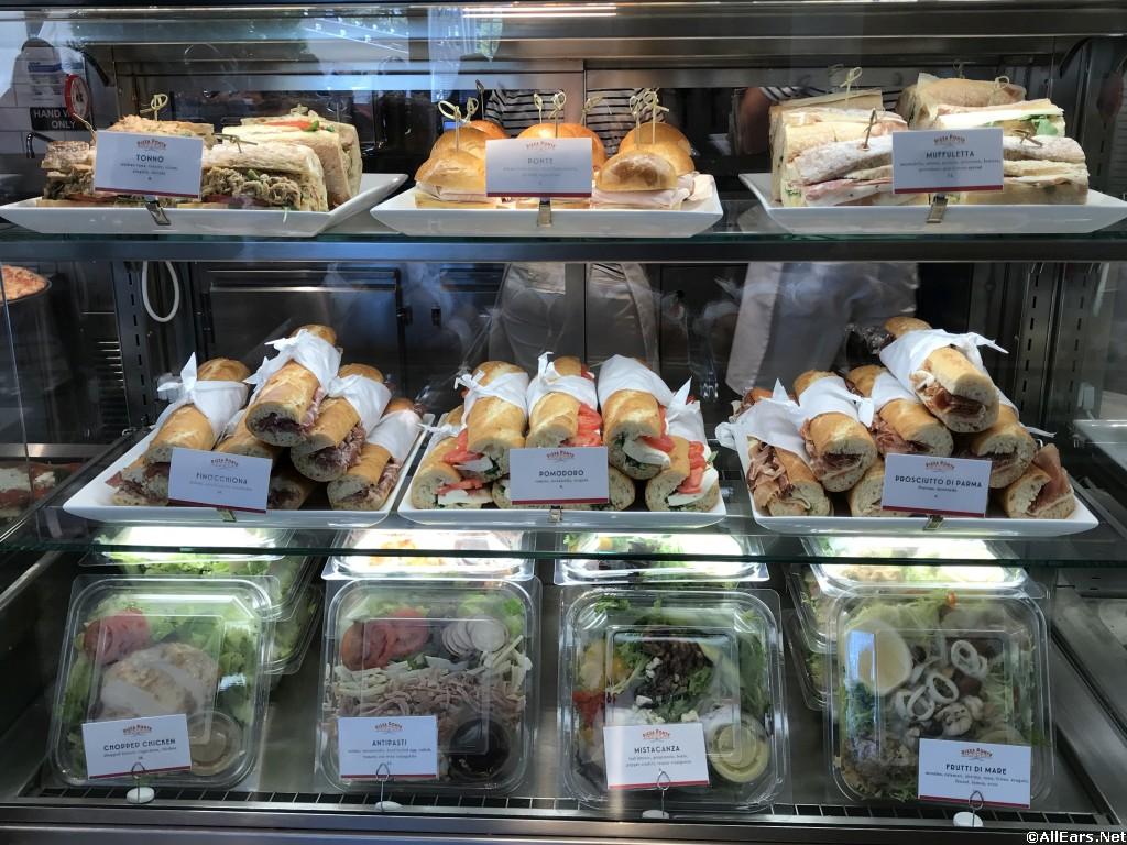 Display Case - Sandwiches