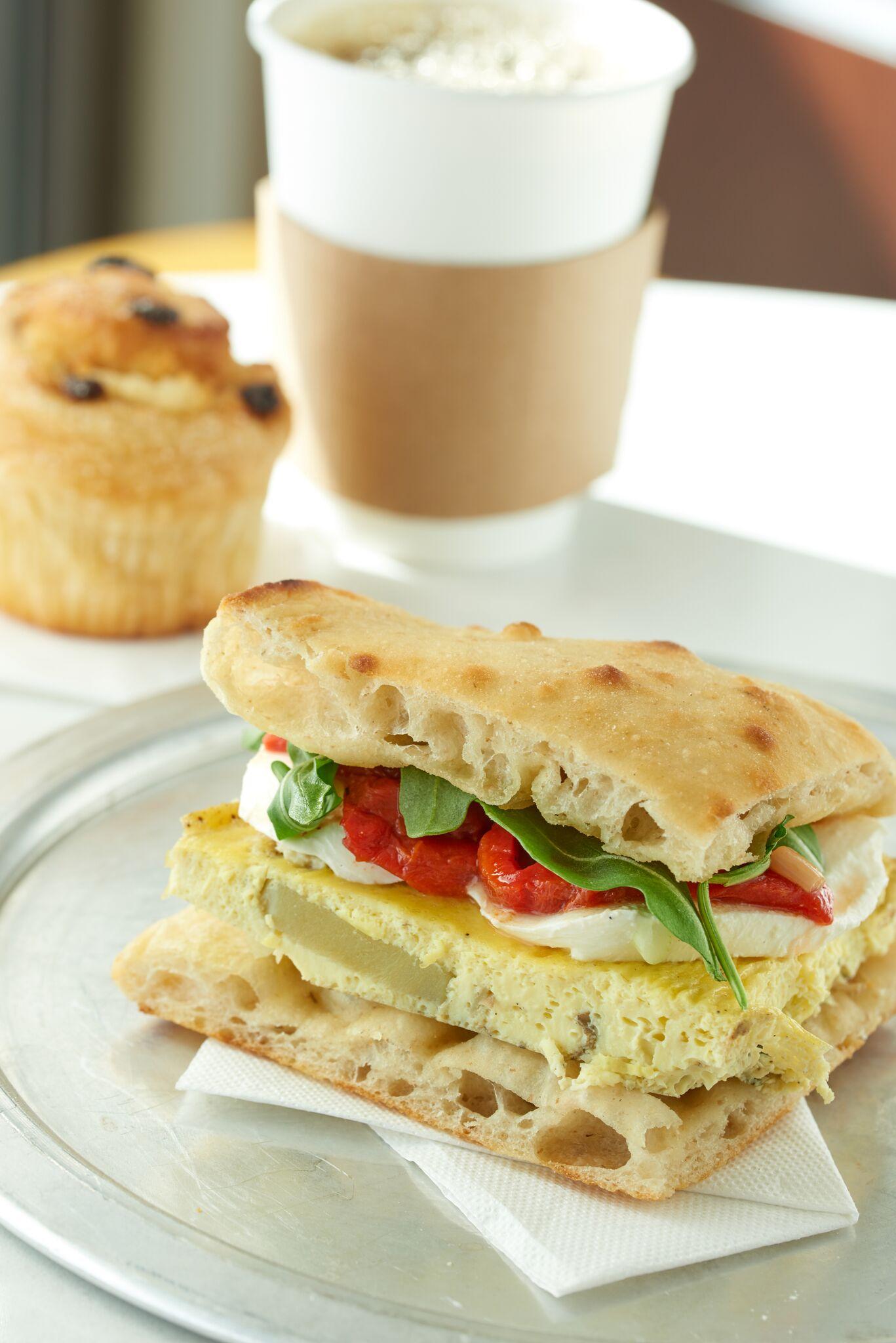 Breakfast Frittata Sandwich